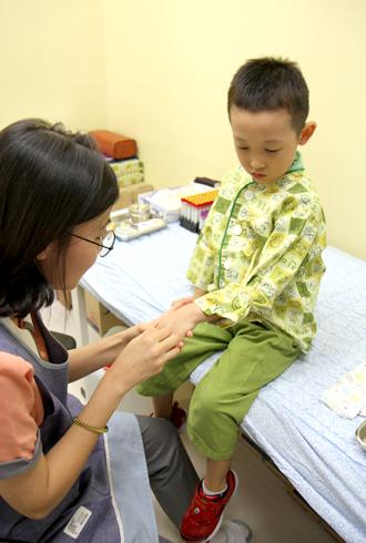 진아동병원 혈액검사