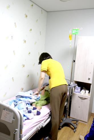 진아동병원 회진